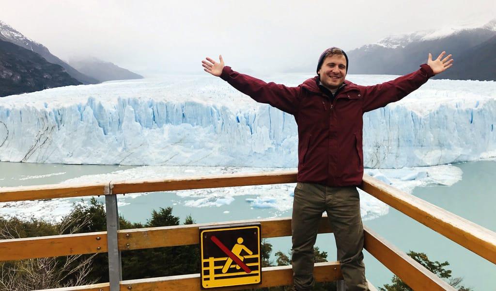 Secrets of Patagonia trip Glenn